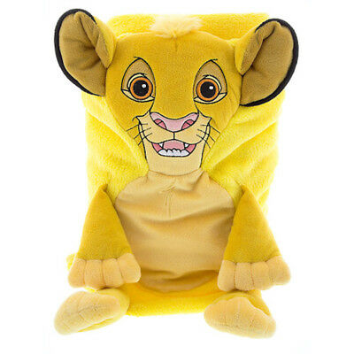 disney parks simba character cuddle plush blanket new with tags
