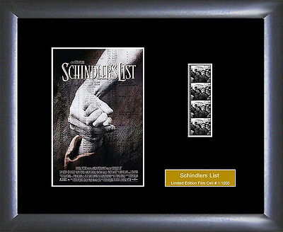 Schindler's List Film Cell - Numbered Limited Edition