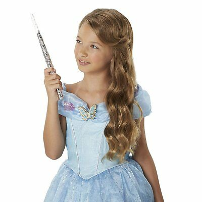 Disney Princess Cinderella Fairy Godmother Enchanted Lights Wand & Combs Set New