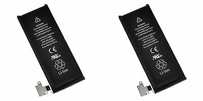 Lot of 2 iPhone 4S OEM Replacement Battery 1420mAh 616-0579 616-0580 616-0582