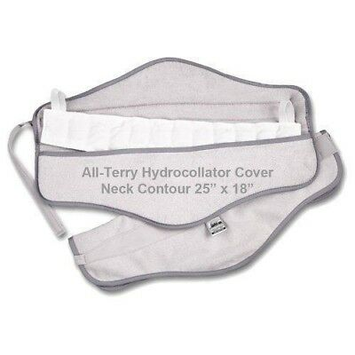 "Chattanooga Hydrocollator Pack Covers - 25"" x 18"" New. Neck Contour"