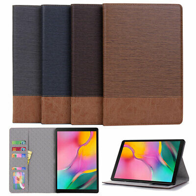 Folio Business Leather Stand WALLET Case Cover For Samsung Galaxy Tab A S4 S5e