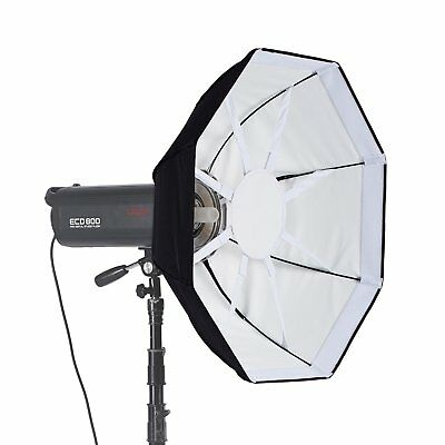 Meking Photography 8 Rods Octagon Softbox For Studio Lighting With Bowens Mount