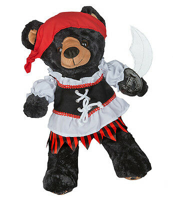 "Pirate Girl w/Sword Outfit  16""(40cm ) by Teddy Mountain will fit Build a Bear"