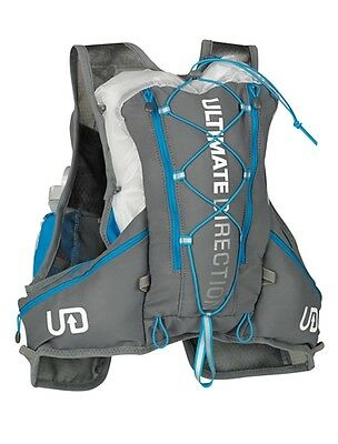 Ultimate Direction SJ Ultra Vest 2.0 Large Gunmetal Hydration Hiking Running New