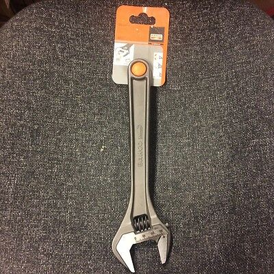 """Bahco Adjustable Wrench - 255mm / 10"""" - 8072 - FREE DELIVERY"""