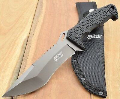 MTech USA XTREME TACTICAL FIXED BLADE KNIFE Combat Bush Hunting Survival 8115