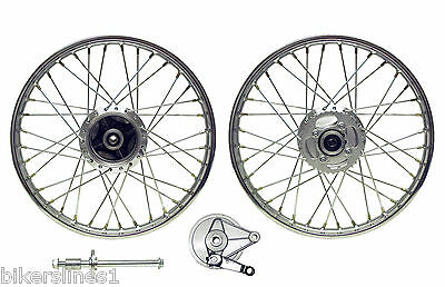 New Honda Cg125 Rear Wheel To Fit 04-08 Drum With Brake Plate & Spindle