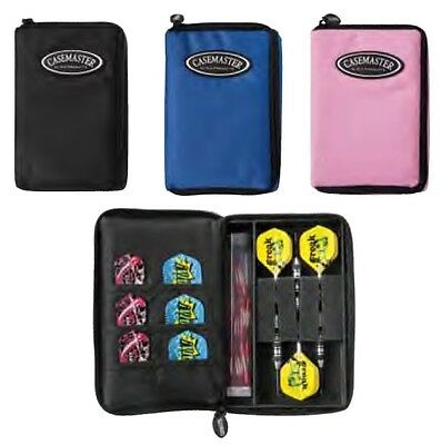 Pink CASEMASTER Select Dart Case: 1 Round Dart Sharpening Stone included