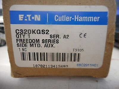 Cutler-Hammer Side Mount Auxiliary Contact C320KGS2