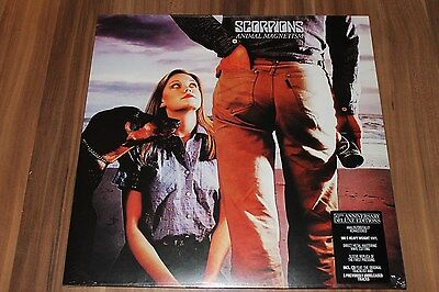 Scorpions-Animal Magnetism-50th Anniversary Deluxe Edition(180g)(LP+CD)(Neu+OVP)