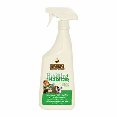 Natural Chemistry Healthy Habitat Pet Clean Fresh Environment Small Animal 24oz