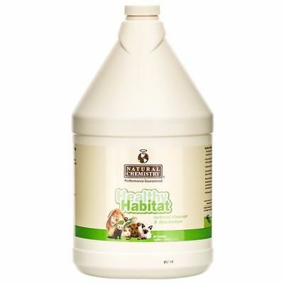 Natural Chemistry Healthy Habitat Pet Clean Fresh Environment Small Animal 1Gal.