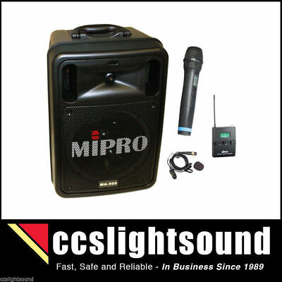Mipro Ma505 R2Pa Battery Portable Wireless Pa System With Bluetooth