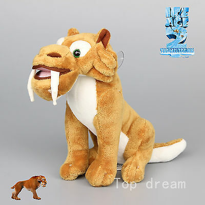 Diego the Tiger Ice Age Dawn of the Dinosaurs Soft Plush Toy Doll Teddy 7'' Gift