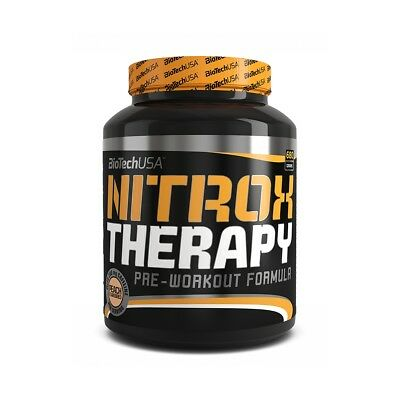 Biotech Nitrox Therapy 680g Tropic Fruit Pre-Workout Booster Creatin AAKG BCAA