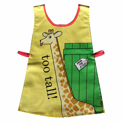 Dear Zoo Tabard Childrens Apron Art /Craft Painting Waterproof PVC by Shreds