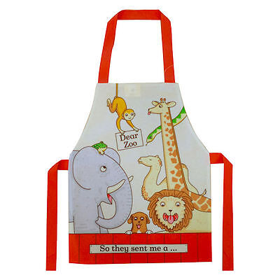Dear Zoo All the Animals Childrens Art /Craft/Kitchen Waterproof Apron by Shreds