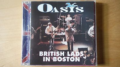 """Oasis """"british Lads In Boston"""" Pro Sourced Silver Disc Cd-Brand New -Never Used"""