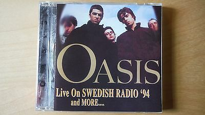 """Oasis """"live On Swedish Radio """" Pro Sourced Silver Disc Cd-Brand New -Never Used"""