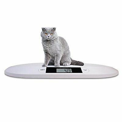 44 lb Digital Portable Pet Dog Puppy Cat Scale Small Animal Weigh Vet Veterinary