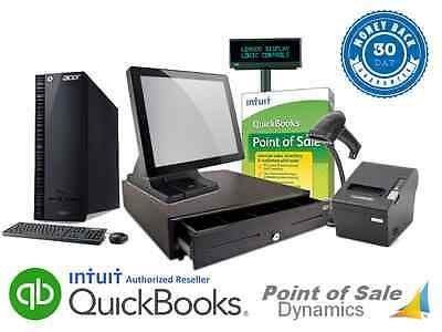 Retail Point of Sale System Featuring Intuit Payment Processing