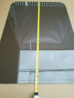 1 Sheet of 3M  Tinted Laminated Safety Glass Soundproof Window Gray Tinted