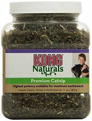 Kong Naturals Cat Premium Catnip High Potency Kitten 1oz