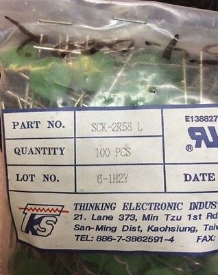 Sck-2R58L Ntc Thinking Power Thermistor S-Type 4 Pcs