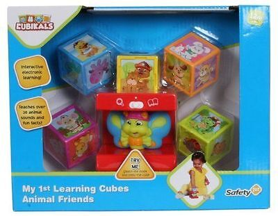 NEW Safety First My 1st Learning Cubes - Animal Friends