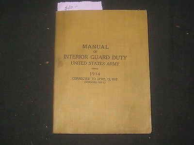 Manual of Interior Guard Duty, 1917