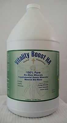 Morningstar Minerals Vitality Boost HA  Humic Acid Supplement 100% Pure 1 Gallon