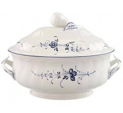 Villeroy & and Boch VIEUX OLD LUXEMBOURG oval soup tureen NEW NWL 2.7litre