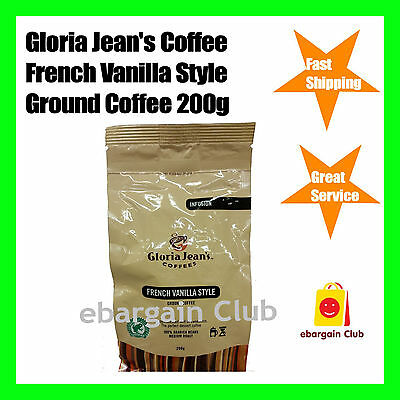 Gloria Jeans Coffees French Vanilla Style Ground Coffee 200g