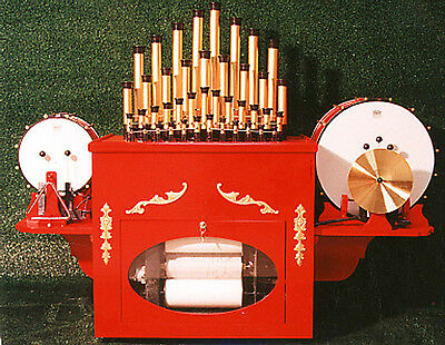 Calliope  Air operated Plays O Rolls