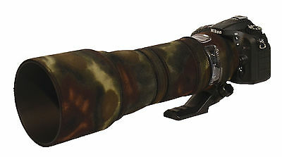 Tamron 150 600mm Neoprene Lens Protection Camouflage Cover : Premium Moss camo