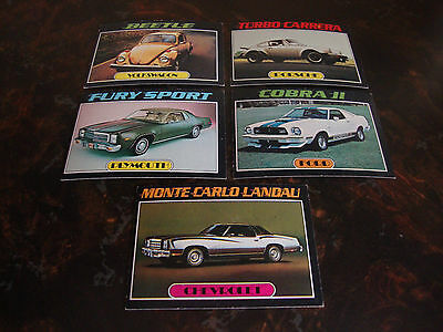 1976 Topps--Auto's Of 1977--Lot Of 5--No Dupes--Multi-Lots--See List/See All Pix