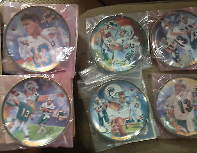 The Dan Marino Commemorative Edition Complete Set 2000 Bradford Exchange Plate