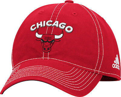 0c5f3cacc81 Women s Chicago Bulls Team Logo Slouch Adjustable Hat NBA Adidas Official  Cap