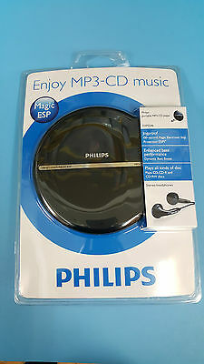 Philips EXP2546 LCD Display Portable MP3/CD Player
