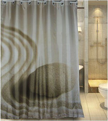 12 pcs Easy Install Enzo Barelli DIAMANTE SILVER HOOK Shower Curtain Accessory