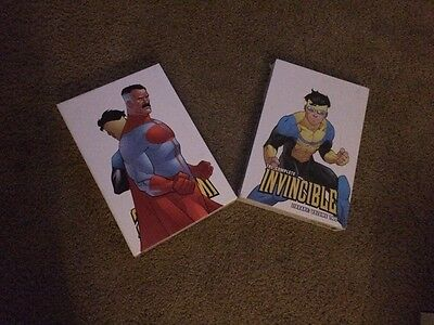 The Complete Invincible Library Volumes 1 And 2 . Vol 1 Signed. Vol 2 Wrapped