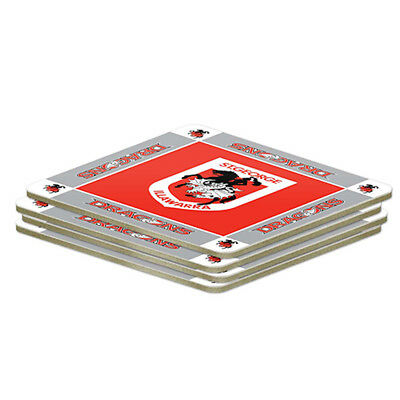 St George Dragons NRL Set of 4 Cork Drinking Coasters