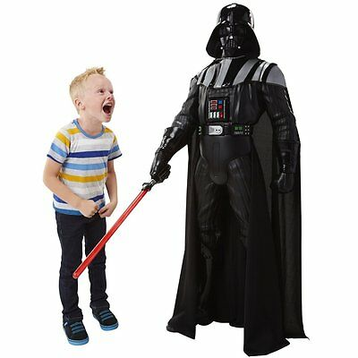 Darth Vader 4FT Kids Life Size Interacting Voice Star Wars Toy Big Action Figure