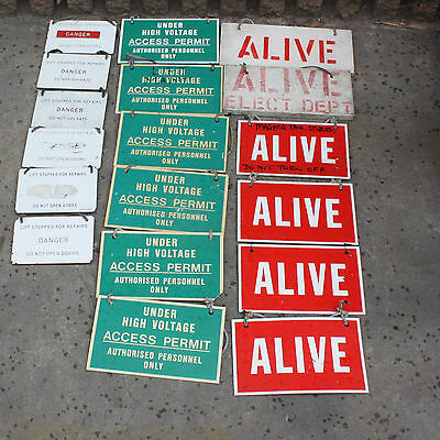 INDUSTRIAL COLLECTABLE SIGNS MAN CAVE Decoration