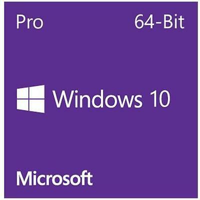 Licenza Windows 10 Pro Professional 32/64 Bit DVD Product Key Full NUOVA OFFERTA