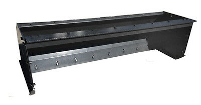 New 8' Snow Pusher Skid Steer Attachment *FREE SHIPPING*