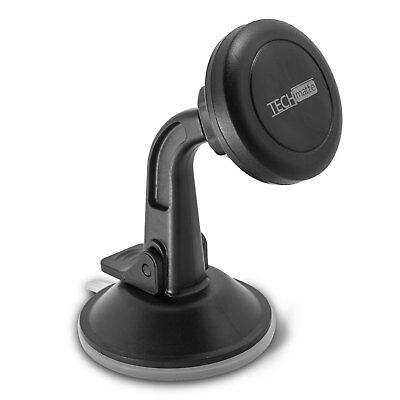 TechMatte MagGrip Dashboard and Windshield Magnetic Universal Car Mount (Black)