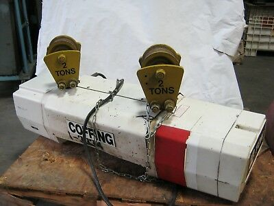 Coffing Wire Rope Hoist 2 Ton with Pendant (WR-4014-3)