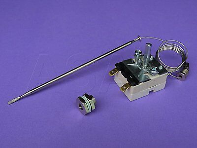 7408-E Thermostat With Gland For Deep Fat Fryers , Fish Fryers, Ef55.13042.180